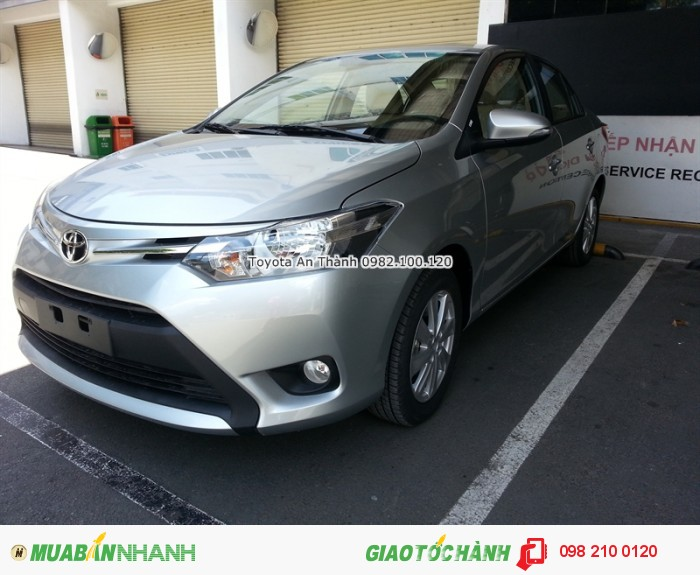 Bạn cần thông tin chi tiết về chương trình mua xe Toyota Vios số sàn trả góp HCM, gọi ngay đến 0982 100 120 để được tư vấn tận tình nhất!