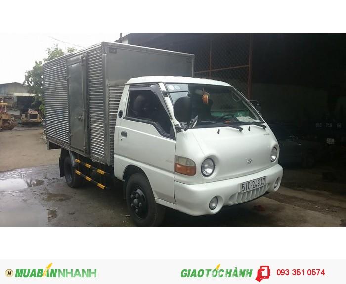Hyundai h100 porter 1t25, thùng kín.