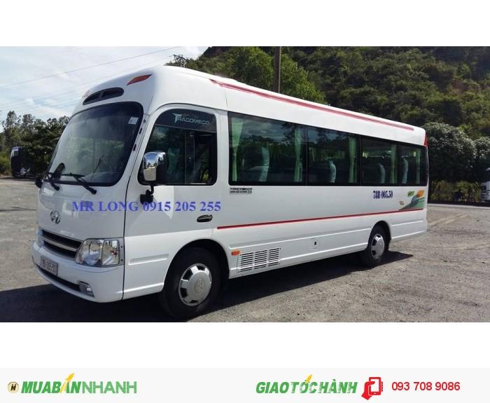 Xe khách 24 chỗ hyundai tracomecomoi 2017