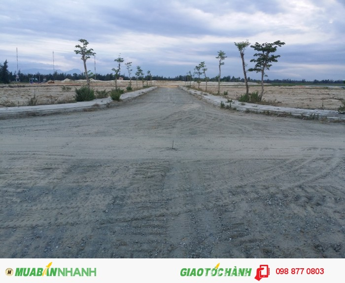 Đất nền khu đô thị sinh thái Coco river Garden Nam Đà Nẵng-Hội an, 325tr/Lô 125m2