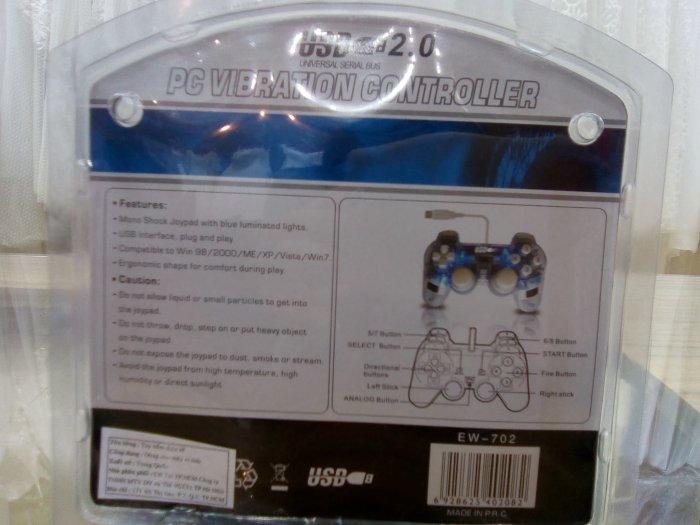 Sản phẩm Tay cầm chơi game EW702 có dây2