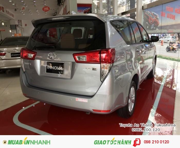 Khuyến Mãi Toyota Innova 2018 Số Sàn Màu Bạc Mới