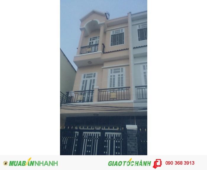 Nhà 1 trệt 2 lầu 4x10 hẻm 18 Lê Văn Lương