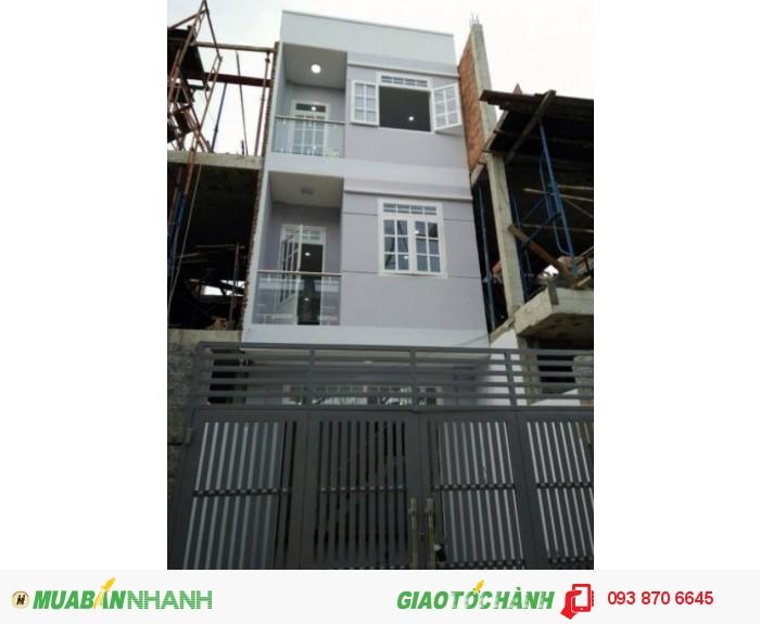 Bán gấp nhà gần vòng xoay Phú Hữu giá chỉ 1TY850