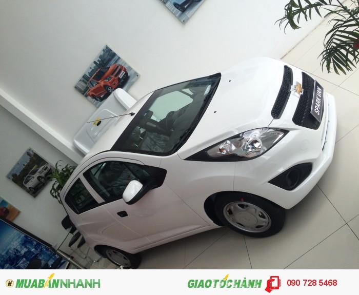 Trả góp Sở hữu ô tô chỉ với 20% giá xe Spark Van Duo 1.2 MT