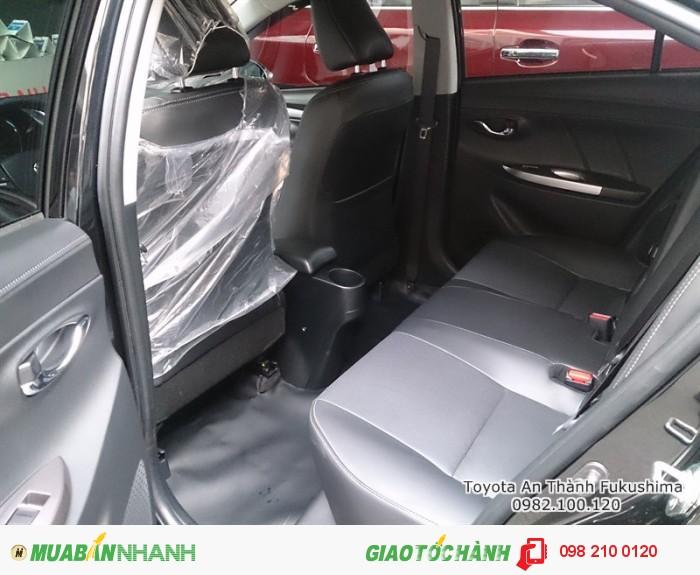 Giá bán xe Toyota Vios tại HCM được cập nhật nhanh chóng, gọi đến 0982 100 120 để được tư vấn cụ thể nhất