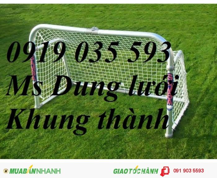 Lưới bóng đá, lưới quây sân bóng nhân tạo, lưới bao sân bóng, lưới che chắn bóng ở sân cỏ nhân tạo