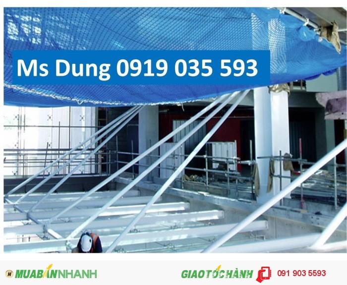 Lưới an toàn xây dựng, lưới chống rơi, lưới che bụi bao che