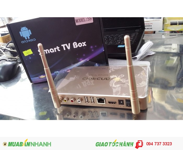 ANDROID TV BOX S90