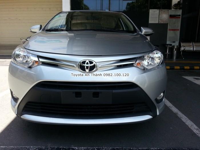 Toyota An Thành Fukushima - Đại lý Toyota 100% vốn Nhật Bản cam kết mang đến giá xe Vios đúng giá và kèm theo nhiều chương trình ưu đãi, khuyến mãi mua xe, gọi cho chúng tôi theo hotline 0982 100 120