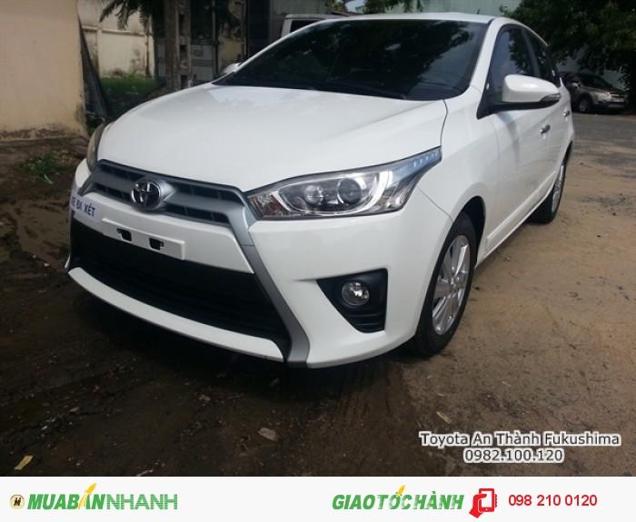 Đại lý Toyota Sài Gòn - xe Toyota Yaris từ Đại lý Toyota 100% vốn Nhật - Toyota An Thành Fukushima, liên hệ đến 0982 100 120 để nhận các chương trình hỗ trợ mua Yaris chính hãng