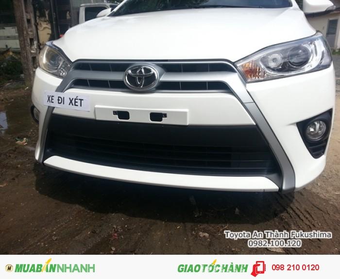 Khuyến Mãi Toyota Yaris 1.5G 2017 nhập khẩu Mới, Mua Trả Góp chỉ cần 217Tr. Xe Giao Ngay