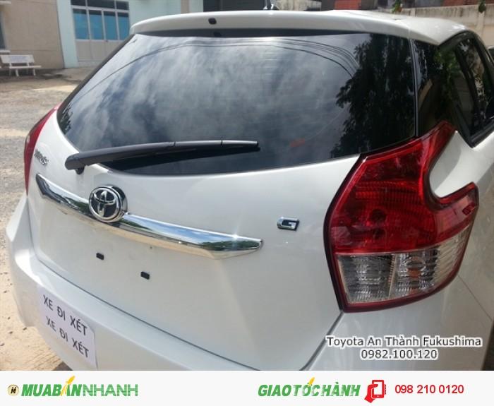 Xe Toyota Yaris ưu đãi tại HCM từ Đại lý Toyota 100% vốn Nhật - Toyota An Thành Fukushima, hotline tư vấn mua xe Yaris - 0982 100 120