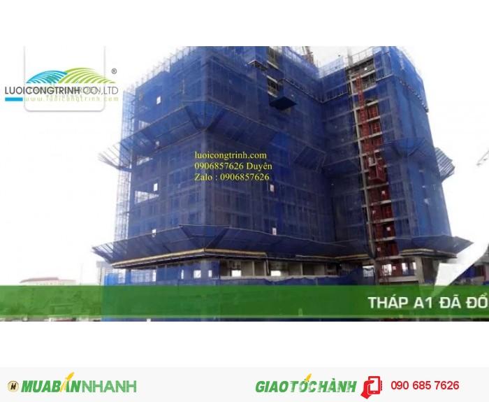 Lưới chắn bụi công trình HDPE giá sỉ2