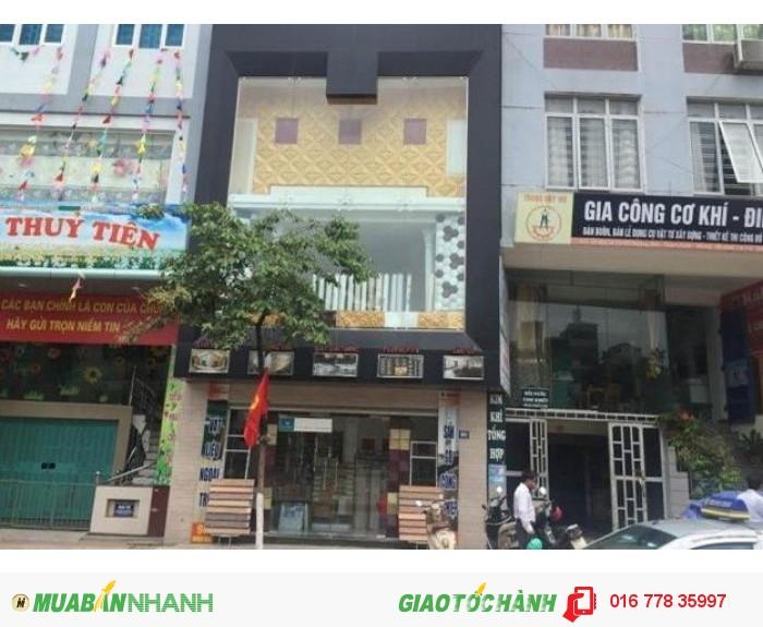 Nhà đẹp kinh doanh tốt mặt phố Nguyễn Tuân cho thuê lâu dài, 50m2x4T,mặt tiền 4m,17tr/th,