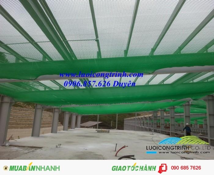 Lưới an toàn cho nhà thép sản xuất theo tiêu chuẩn Hàn Quốc0