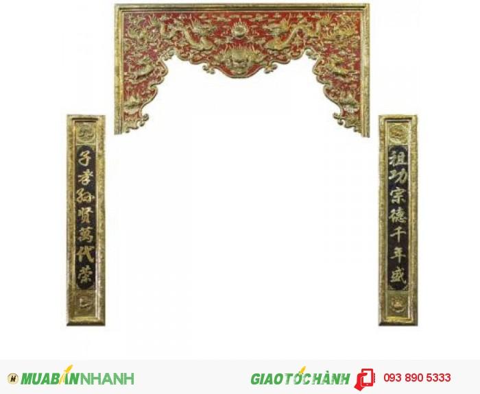 Cuốn Thư,Hoành Phi,Đức Lưu Quang,chất liệu đồng vàng.2