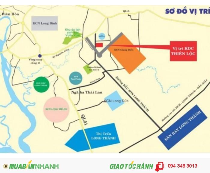 Bán Đất Khu Dân Cư Thiên Lộc Xã Tam Phước Biên Hòa Đồng Nai
