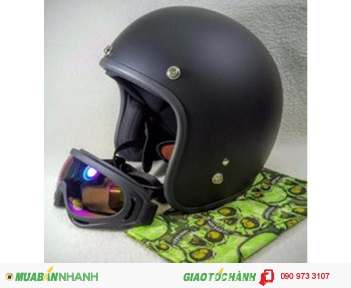 Combo Nón Bảo Hiểm Dammtrax 3.4 Và Kính Bảo Hộ UV400 Cho Phượt Thủ 0