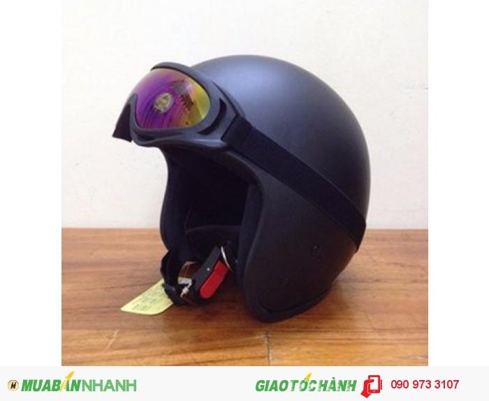 Combo Nón Bảo Hiểm Dammtrax 3.4 Và Kính Bảo Hộ UV400 Cho Phượt Thủ 1