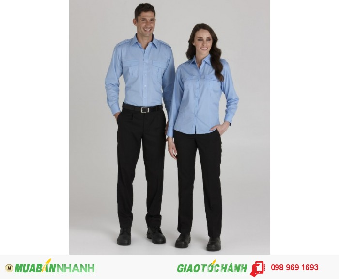 Đồng phục công sở nam nữ, thanh lịch