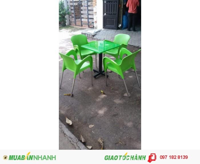 Bàn Ghế Dùng Cho Quán Cafe  giá rẻ0