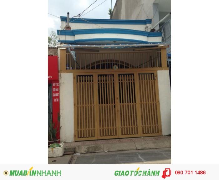 Nhà đường nhựa 12M Nguyễn Hữu Tiến, Tân Phú, 4x14, 2.62tỷ