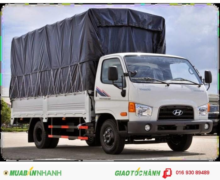 Mua xe tải HYUNDAI trả góp 5 tấn HD65 đời 2016