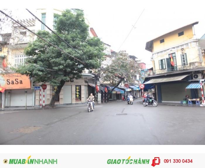 Bán nhà 3 tầng, view cực đẹp, góc phố cổ Hàng Đường – Lãn Ông (Hà Nội), SĐCC