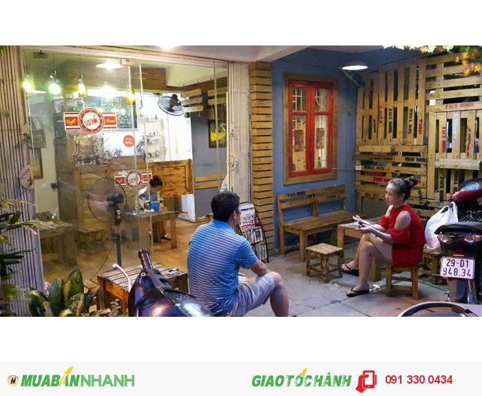 Sang nhượng quán cafe Nhớ, ngõ 48 Tạ Quang Bửu, Hà Nội