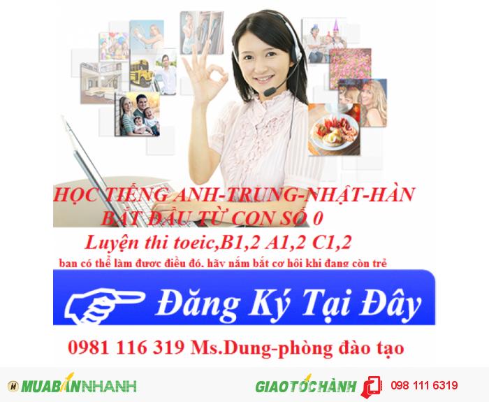 Đào tạo tiếng hàn cơ bản, tiếng hàn giao tiếp chất lượng nhất tại Hà Nội