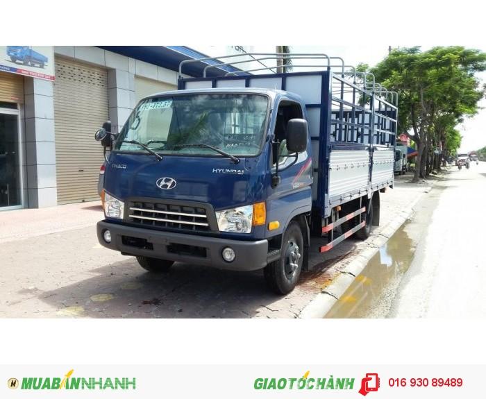 Dòng xe tải HYUNDAI HD500 5 tấn hàng 3 cục HÀN QUỐC THACO An Sương