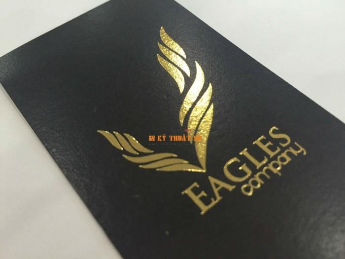 In name card cool với giấy art, gia công phủ nhũ vàng ánh kim sang trọng, bắt mắt, t...