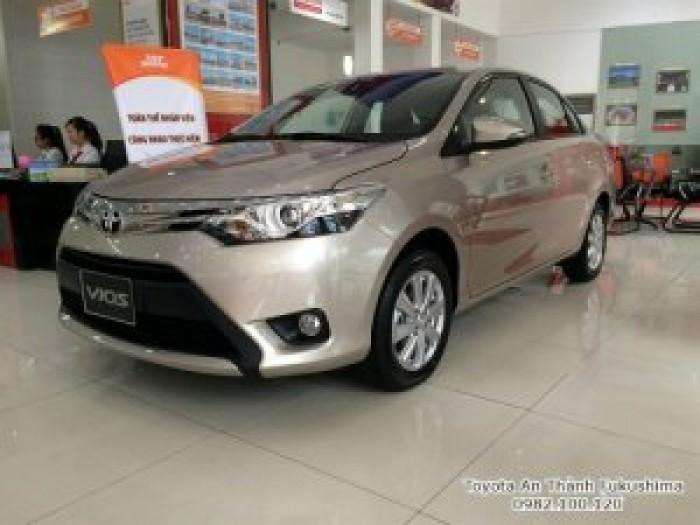 Xe ôtô Toyota Vios 2018 ở HCM từ Đại lý Toyota 100% vốn Nhật - Toyota An Thành Fukushima