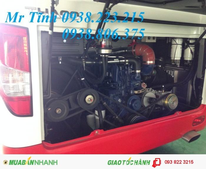 Giá xe khách 29 chỗ thaco town tb82 ưu đãi lớn, xe khách thaco 29 chỗ bầu hơi 4