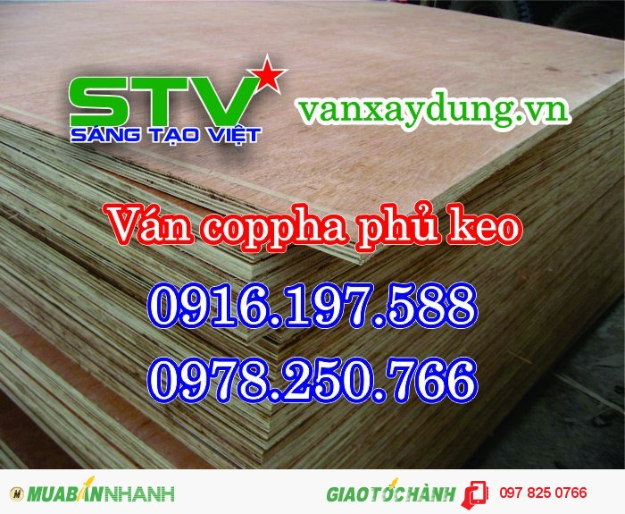 Cốp pha phủ phim Sài Gòn, Ván ép cốp pha sài Gòn, Ván khối đỏ dài 4m bình dương1