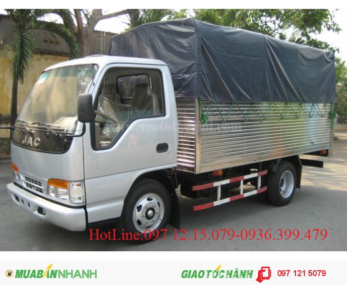 Xe tải JAC 1.49 - 2.4 tấn khuyến mại lớn mùa thu vàng rinh lộc vàng