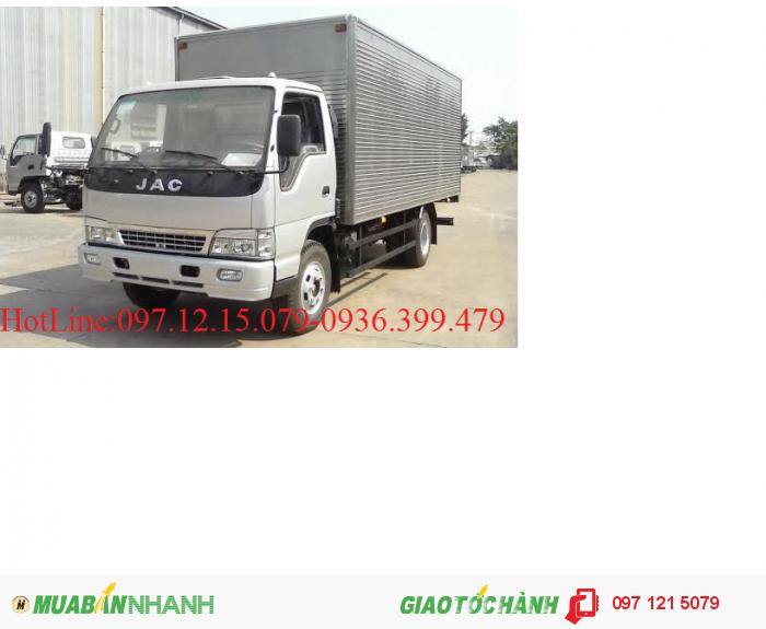 Xe tải JAC 3.45 - 4.9 tấn khuyến mại lớn mùa thu vàng rinh lộc vàng 2