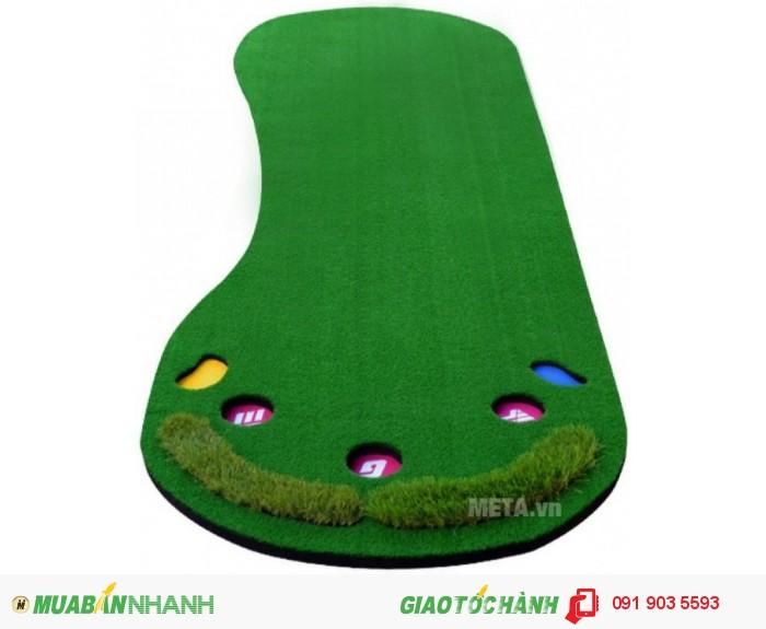 Thảm tập chơi golf, thảm đánh golf chuyên dụng, thảm golf mini, thảm golf tập trong nhà, golf 3d