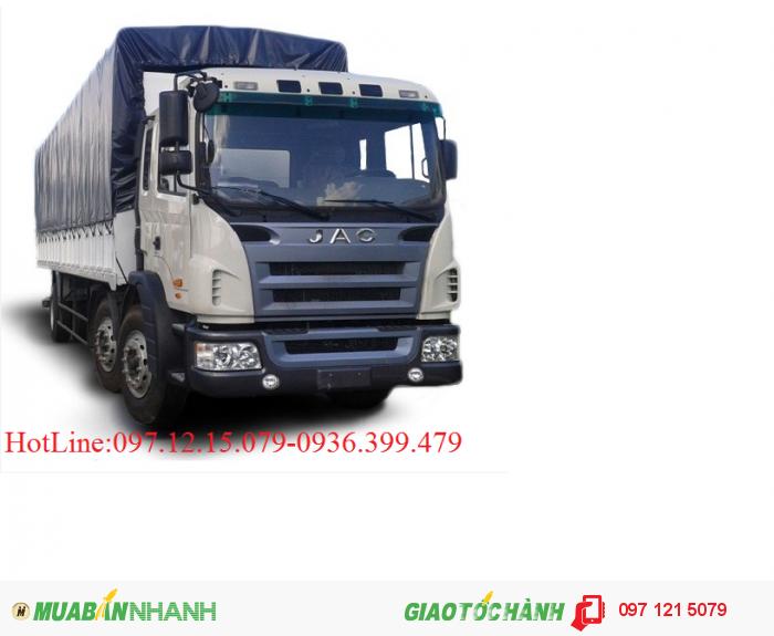 Xe tải JAC 3 chân khuyến mại lớn mùa thu vàng rinh lộc vàng