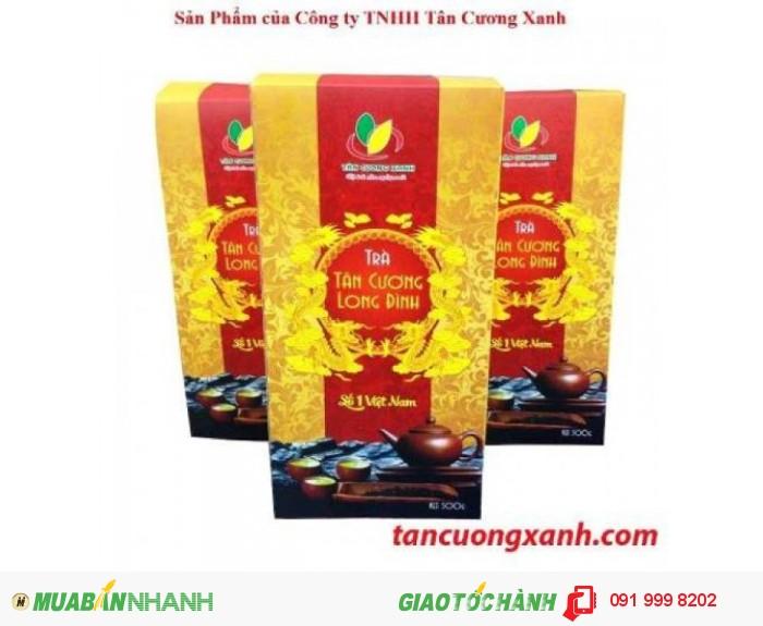 Trà Tân Cương Long Đình 500 gram 225.000 đồng/ gói1
