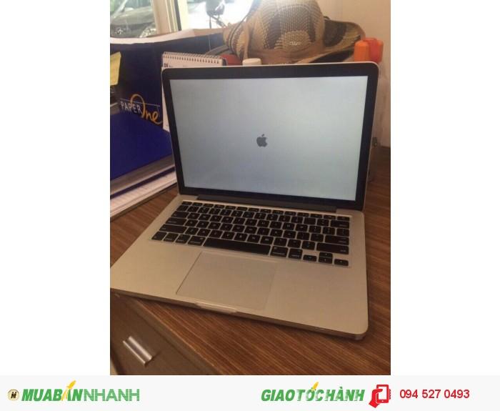Macbook Pro Retina 2014 - MGX72 Core i5 mới 99% nữ xài ít dùng