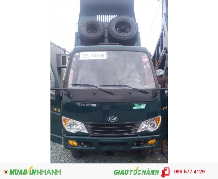 Cần bán xe ben Veam vb150 tải trọng 1t5 giá khuyến mãi