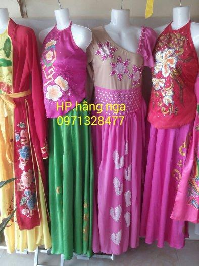 Trang phục biểu diễn hoa phượng.bán và cho thuê