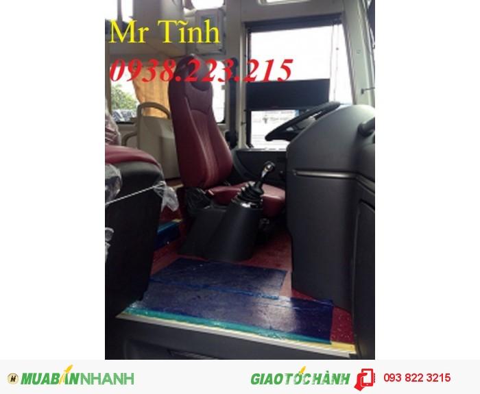 Giá xe khách 45 47 chỗ thaco universe mới nhất, giá xe khách thaco universe tb120s mới nhất 3