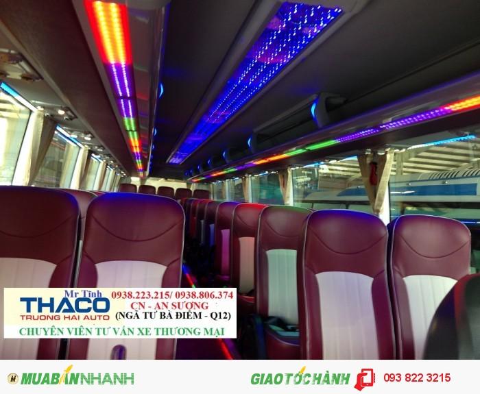 Giá xe khách 45 47 chỗ thaco universe mới nhất, giá xe khách thaco universe tb120s mới nhất 4