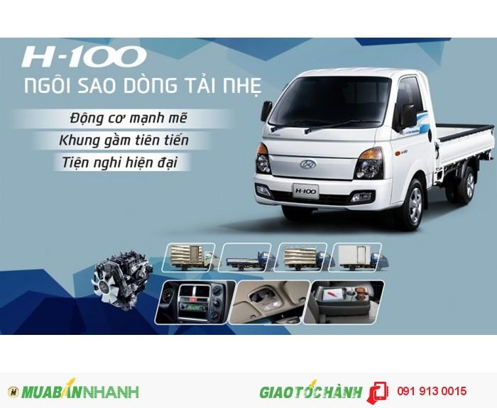 Xe Tải Hyundai 1t25 - Hyundai H100