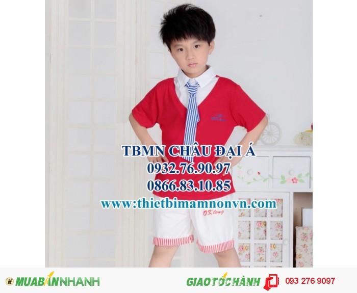 Đồng phục cho học sinh mầm non , đồng phục cho bé1