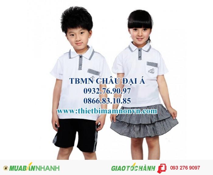 Đồng phục cho học sinh mầm non , đồng phục cho bé3