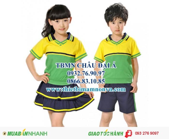 Đồng phục cho học sinh mầm non , đồng phục cho bé4